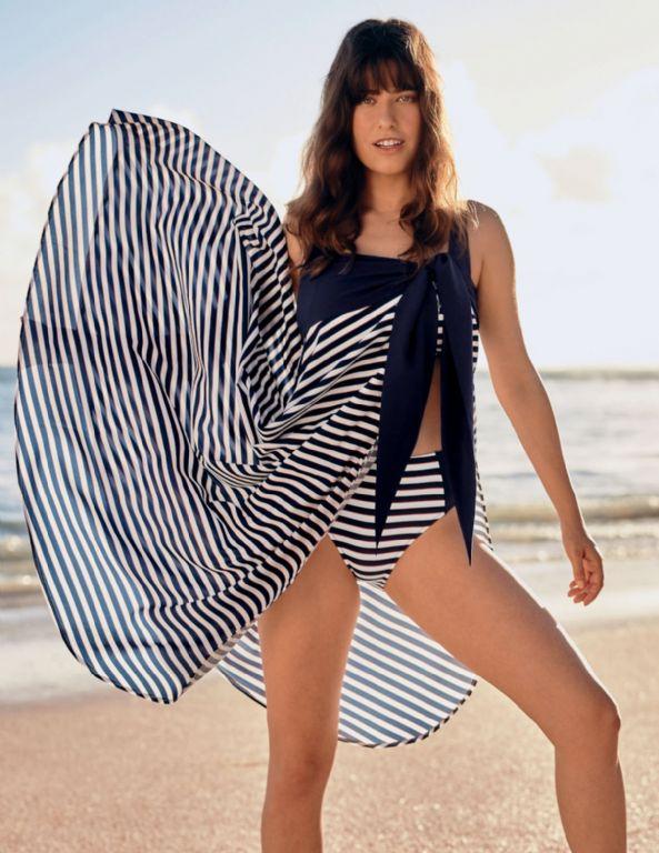 Poolstripes Wrap Skirt 8140