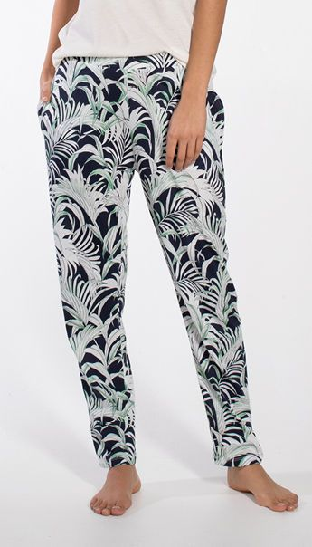 Palm Leaves Long Trousers 030214