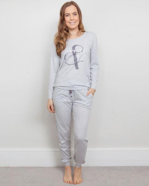 Erica Print Knit Pyjama Set 3809/3811