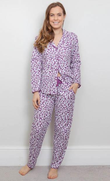 Fiona Woven Pyjama Set 3827/3828