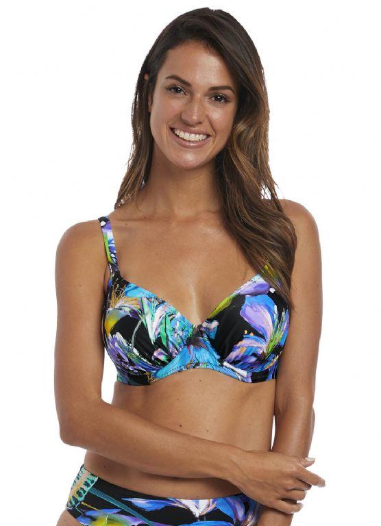 Paradise Bay Gathered Full Cup Bikini Top FS6474