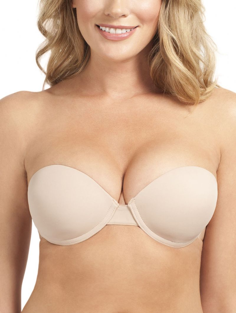 Go Bare Ultimate Boost Backless Strapless Bra