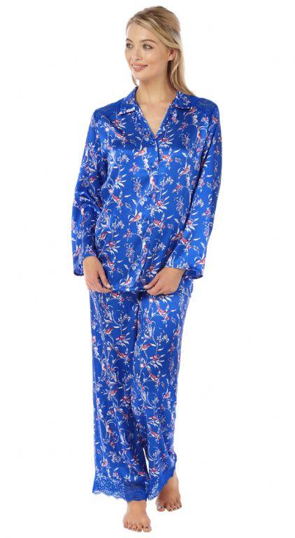Printed Satin Pyjamas IN15118