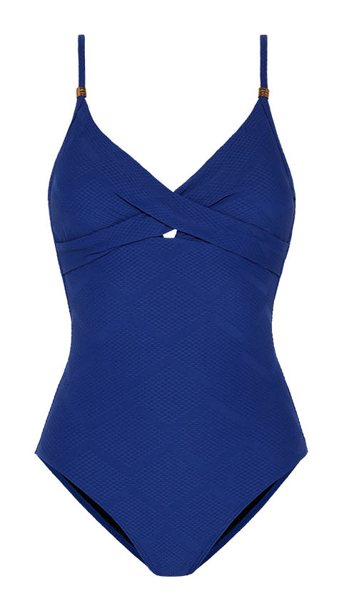 Deep Blue Non-Wired Swimsuit N26303