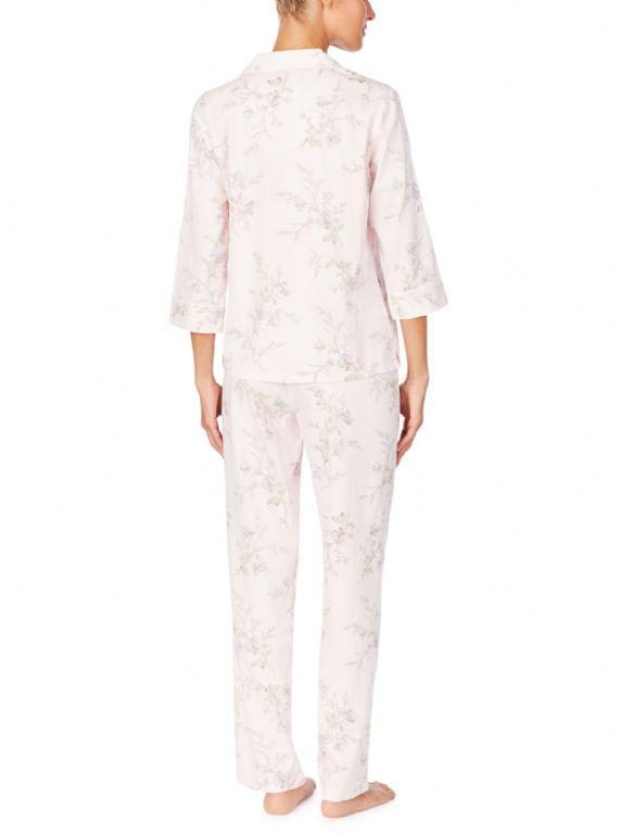 Three Quarter Sleeve Woven Pyjamas LN92003