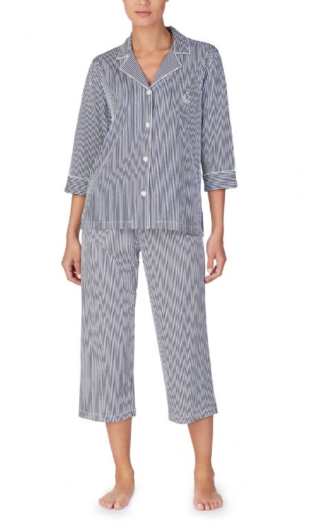 Classic Notch Capri Pyjama Set 819702