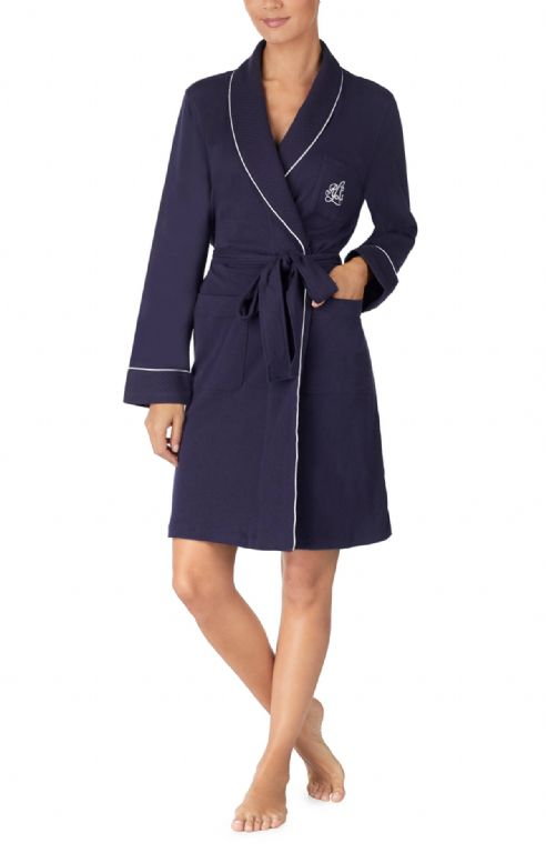 Quilted Shawl Collar Robe 814193