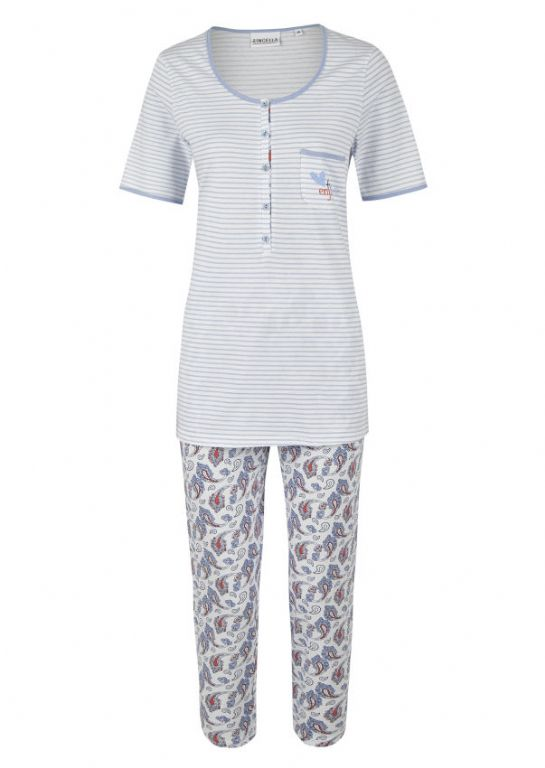 Pyjamas with Three Quarters Legs 0211228