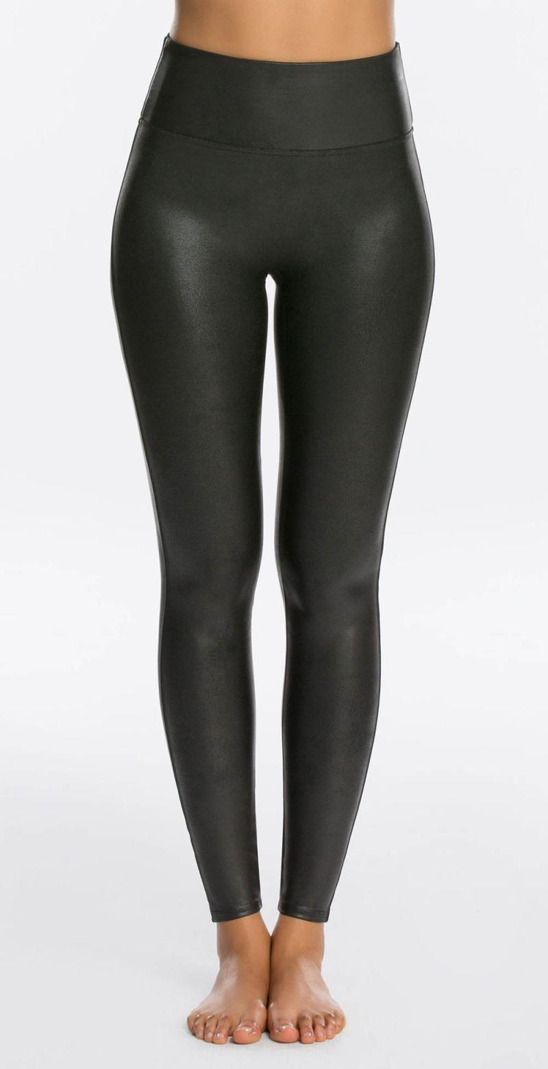 Faux Leather Leggings 2437