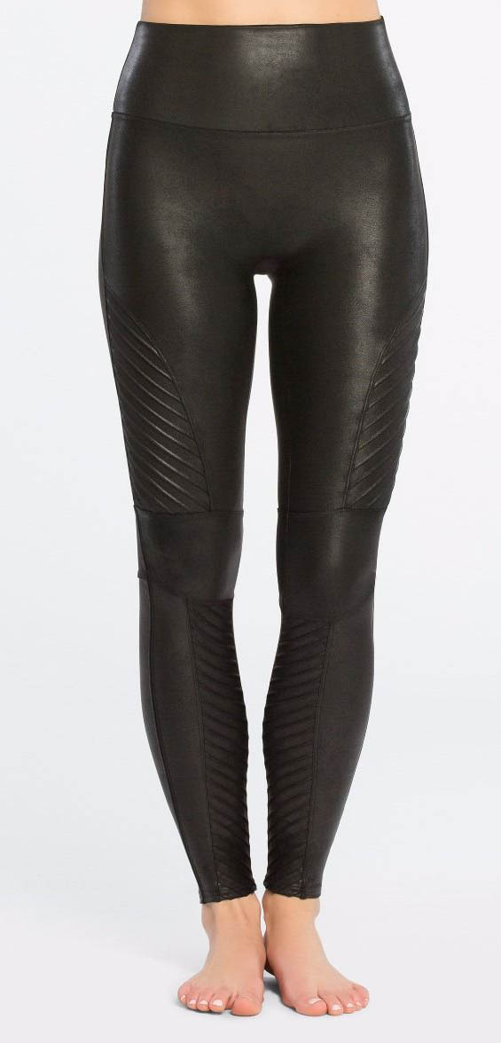 Faux Leather Moto Leggings 20136R