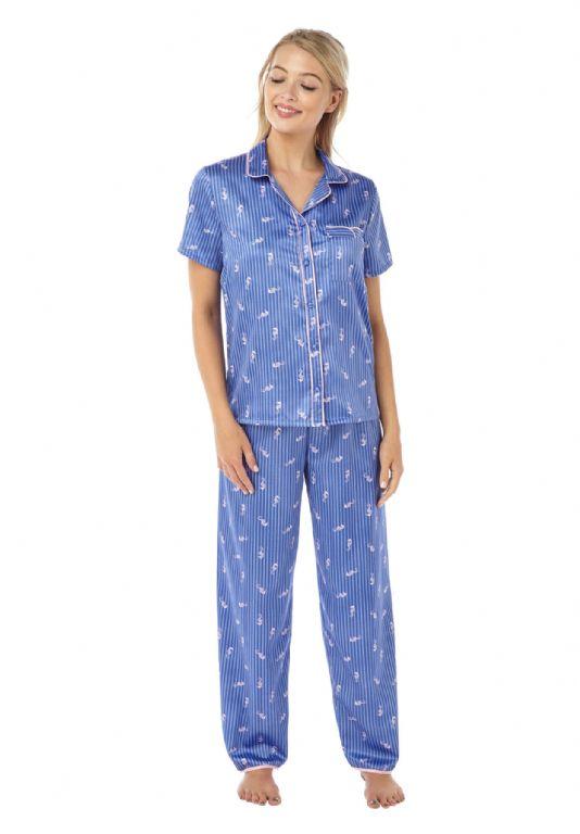Seahorse Satin Pyjamas IN18313