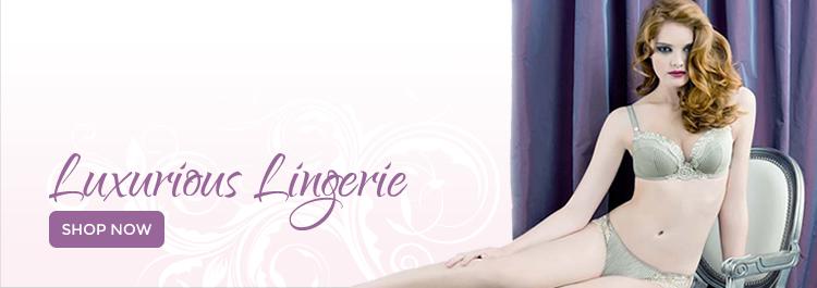 Luxurious Lingerie Banner