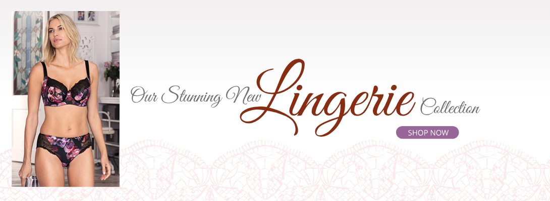 New Lingerie Collection Banner