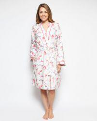 Evie Hummingbird Print Robe 4205